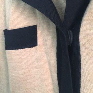 J. Crew Sweaters - Black and Tan J.Crew Wool Cardigan